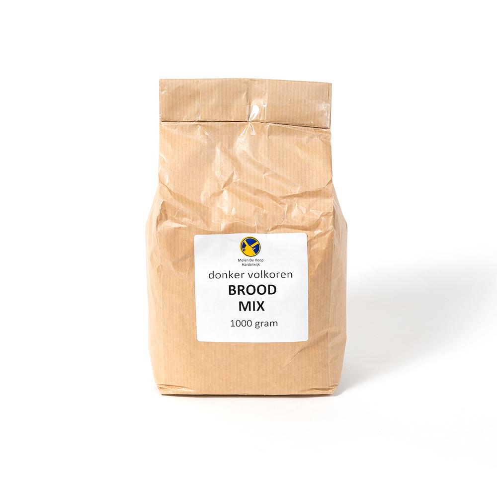 Donker volkoren broodmix 1000 gram