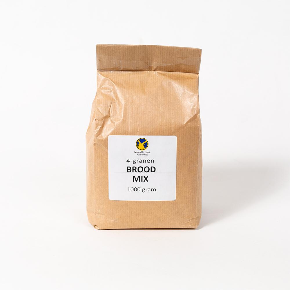 4-granen broodmix 1000 gram