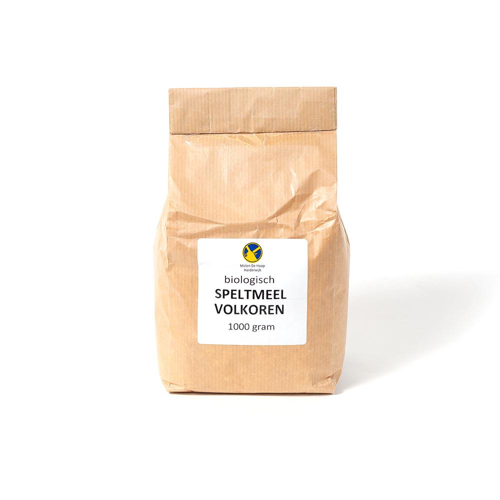 Biologisch speltmeel volkoren 1000 gram