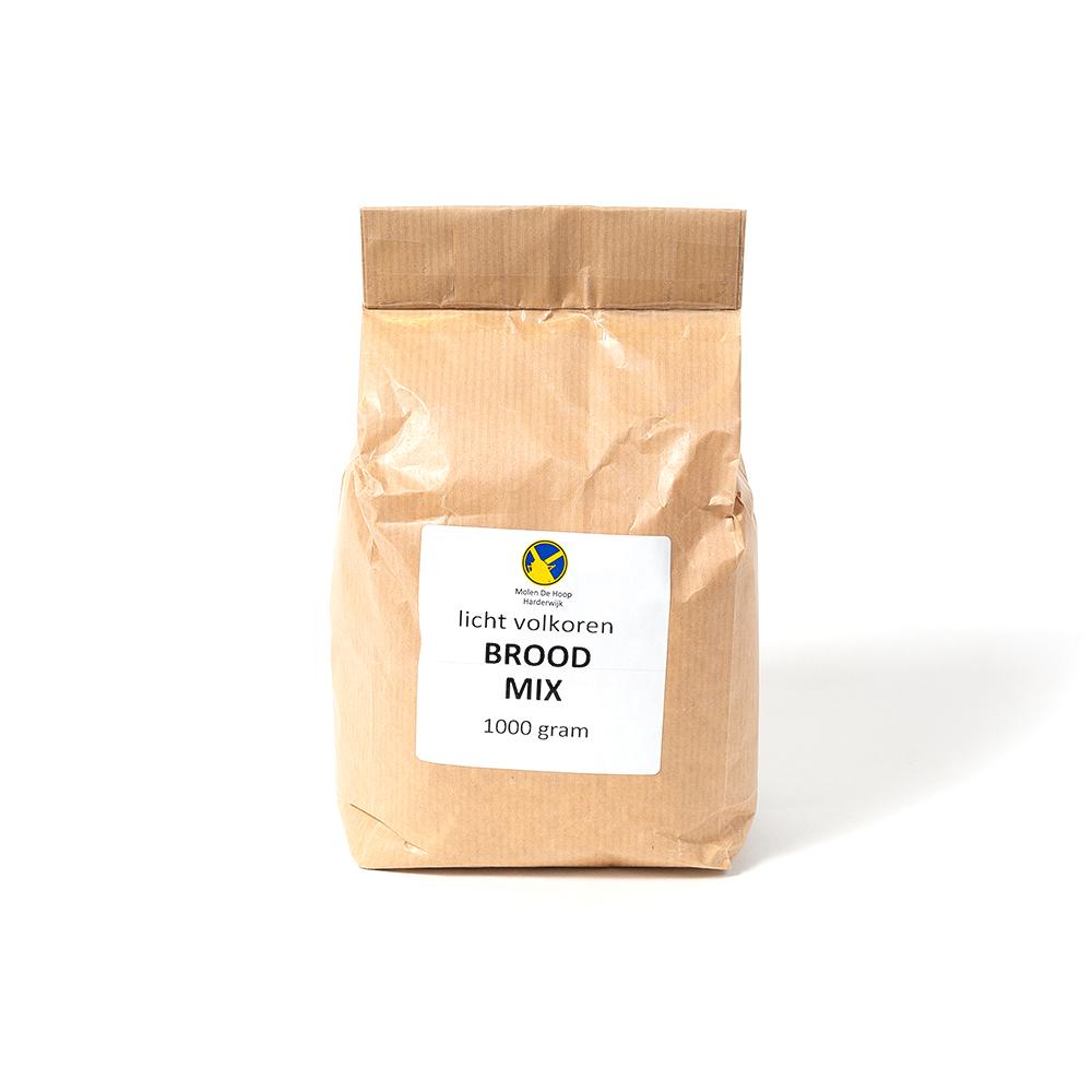 Licht volkoren broodmix 1000 gram