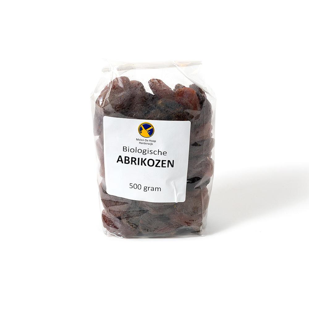 Biologische abrikozen 500 gram