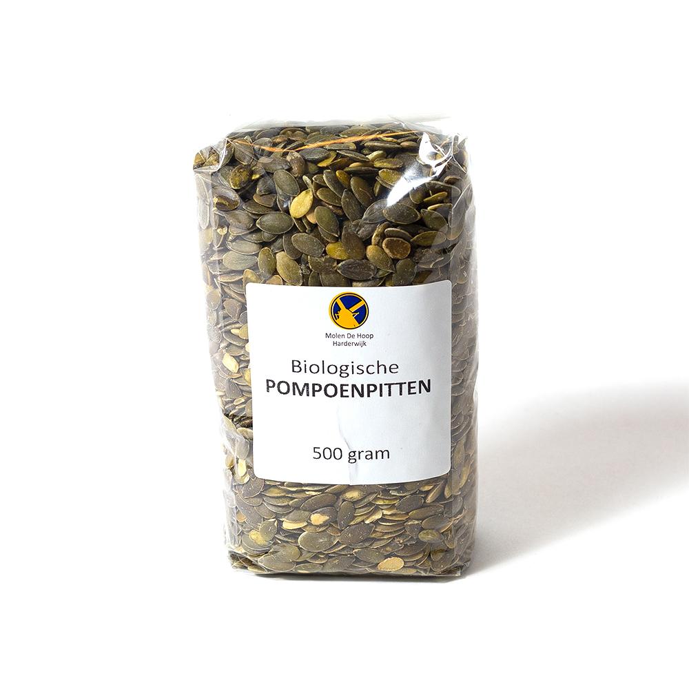 Biologische pompoenpitten 500 gram