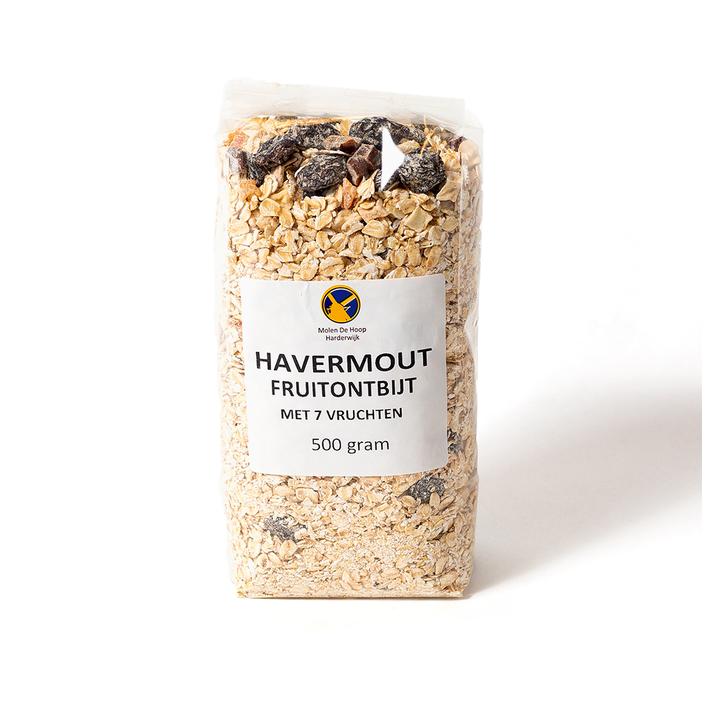 Havermout fruitontbijt 500 gram