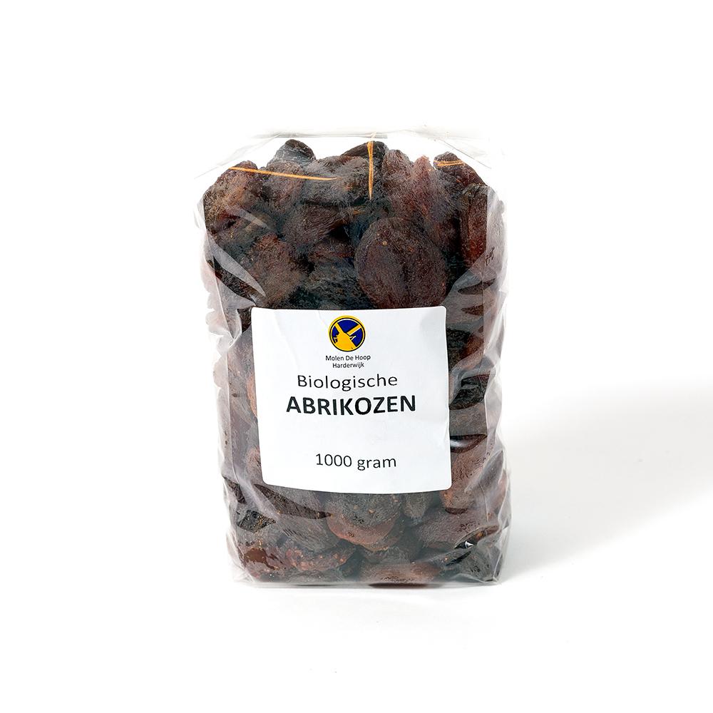 Biologische abrikozen 1000 gram